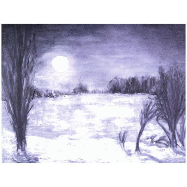 Clair de lune 70x90