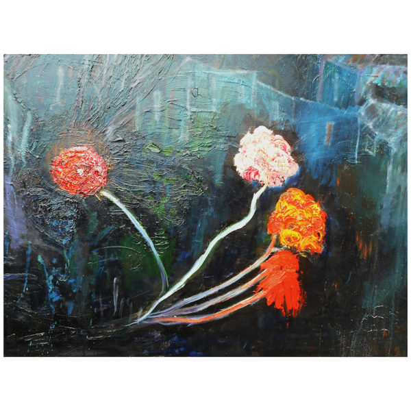 Flowers at Night 70x90
