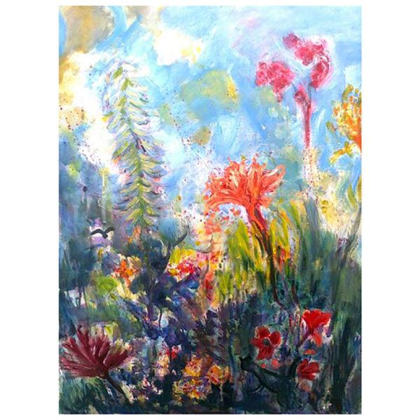 Les fleurs du jour 90x70