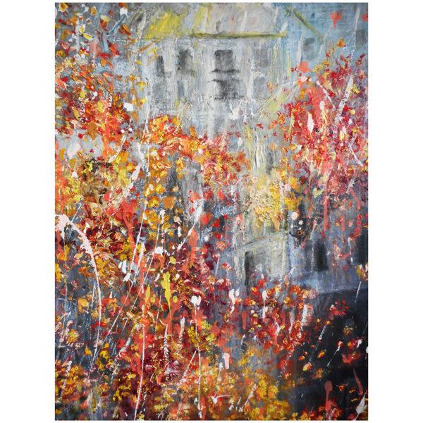 L'automne en mi mineur 60 x 50