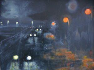 Nocturne II - 65x54 cm